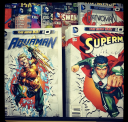 Superman at Barnes & Noble