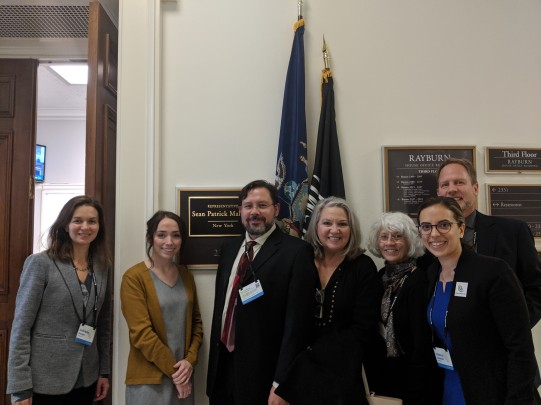 Meeting with representatives of Congressman Sean Patrick Maloney in Washington, DC in November 2019.